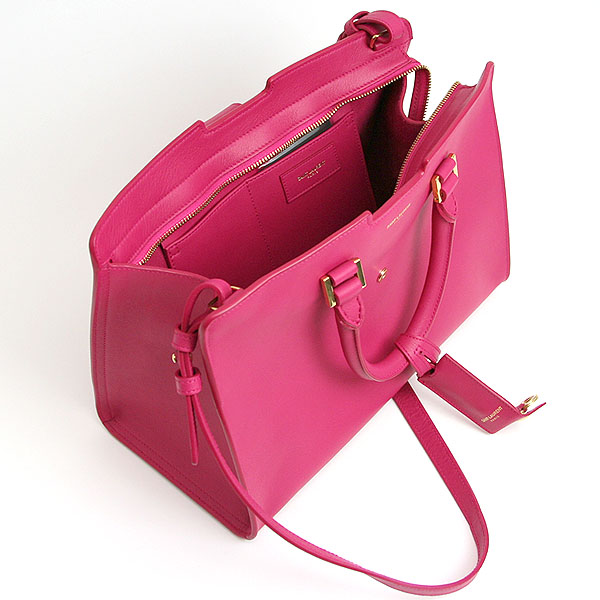 Saint Laurent Paris 2 Handbags Fushia Fuchsia Pink 311210 Bj50j5514 Yves