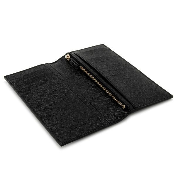 Saint Laurent Paris SAINT LAURENT PARIS two bi-fold wallet NERO (black) 315866 BOW0J1000 Yves Saint Laurent Yves Saint Laurent