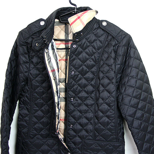 Best Gallery Burberry Burberry Womens Quilted Jacket Black