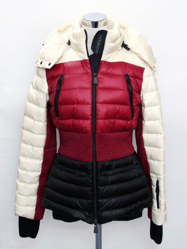 12 / 13 by 9:59-MONCLER MONCLER GRENOBLE Womens down jacket ivory / Bordeaux 4695385 53071 049 P06Dec14
