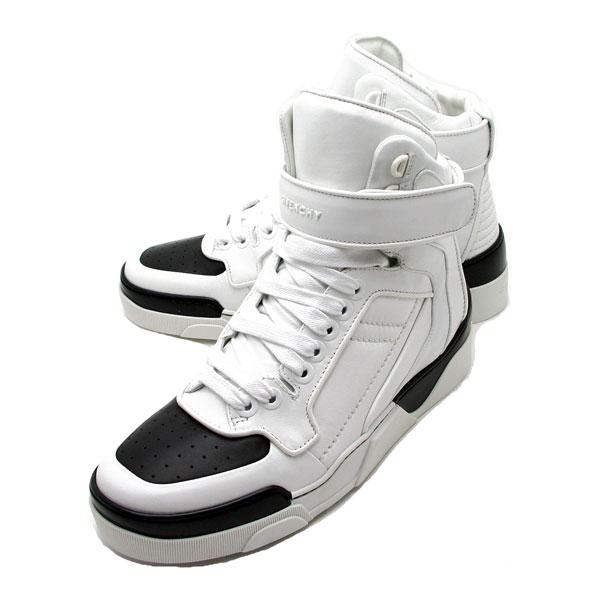 7e2e9c2be46 -Decrease-116 Givenchy GIVENCHY men s high cut sneakers BLACK WHITE (black  white) BM08000811