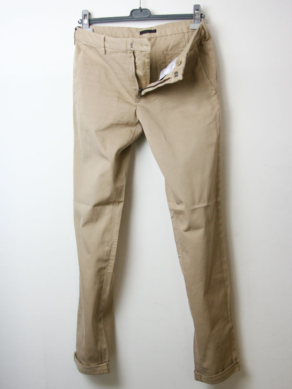 Mens Stretch-Cotton Trousers Prada q3LpJyP