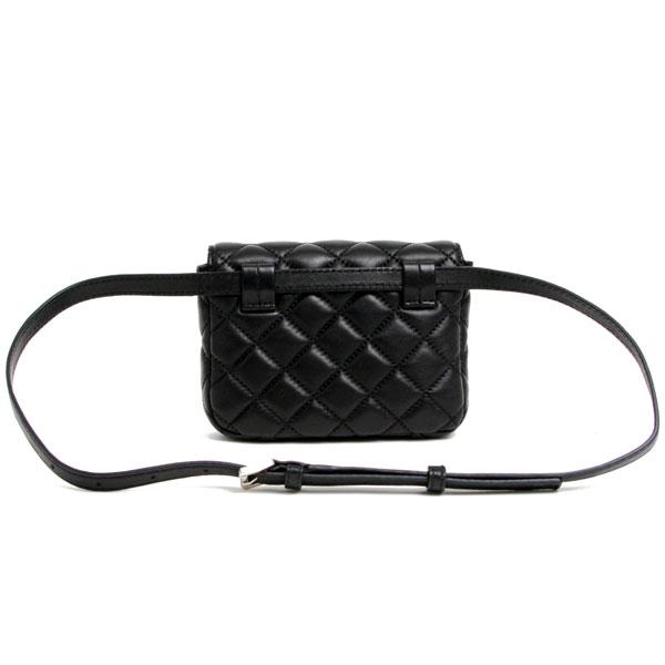 Michael Kors Leather Bags Shoulder Bag Waist Black 30t6ssln1l 001