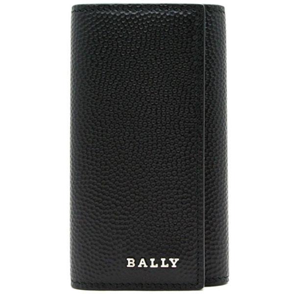 『ポイント5倍還元』バリー BALLY【LETTERING DOTTIC】4連キーケースBLACK (ブラック)NANTOS 6205617 00【あす楽対応】 【コンビニ受取】 【ロッカー受取】 【国際配送】