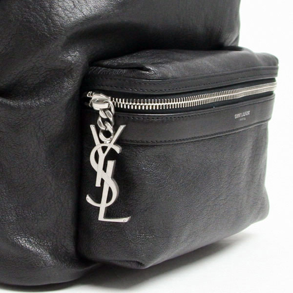 """Sale sale"" Saint-Laurent Paris SAINT LAURENT PARIS backpack BLACK (black) 462807 CU0YE 1000"