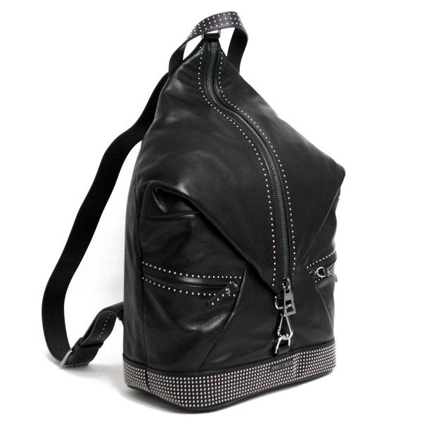 BLACK/ JIMMY CHOO/ バックパック ジミーチュウ 『FITZROY フィッツロイ』 【2017-18AW】 【スーパーセール】 【BLACK/BLACK】 m-bag FITZROY IPC BLACK/