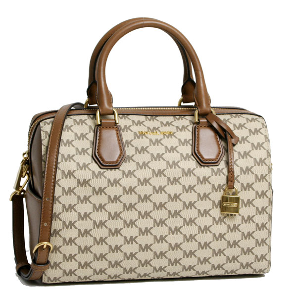 a8f18a330cd6 ... italy sale sale michael kors michael kors duffle logo heritage 2way  boston bag natural luggage 30h6tm9u2v ...