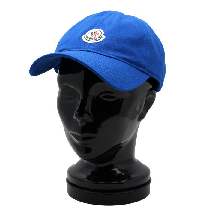 『ポイント5倍還元』モンクレール MONCLERメンズ ベースボール キャップ 帽子 BLUE (ブルー) 0020900 0209C 732【あす楽対応】 【コンビニ受取】 【ロッカー受取】 【国際配送】