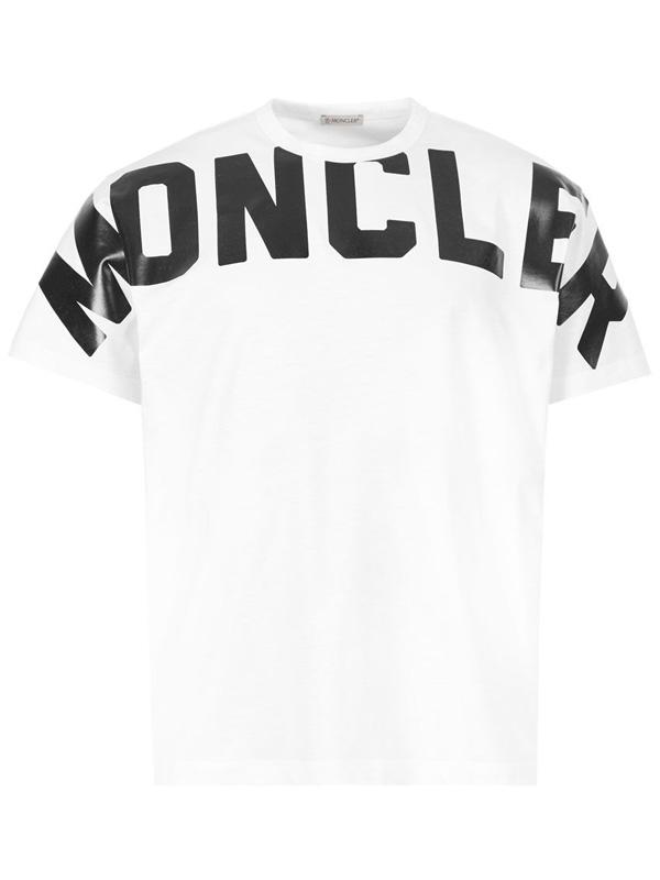 『ポイント5倍還元』モンクレール MONCLERMAGLIA T-SHIRT メンズ クルーネック Tシャツ WHITE (ホワイト) 8C70410 8390T 001【送料無料】 【あす楽対応】 【コンビニ受取】 【ロッカー受取】 【国際配送】
