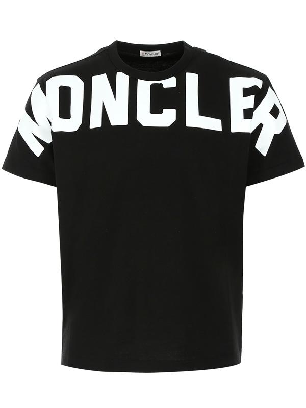 『ポイント5倍還元』モンクレール MONCLERMAGLIA T-SHIRT メンズ クルーネック Tシャツ BLACK (ブラック) 8C70410 8390T 999【送料無料】 【あす楽対応】 【コンビニ受取】 【ロッカー受取】 【国際配送】