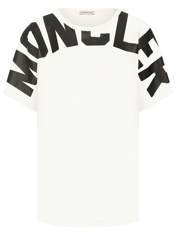 『ポイント5倍還元』モンクレール MONCLERT-SHIRT GIROCOLLO レディース クルーネック Tシャツ WHITE (ホワイト)8C70710 V8094 033【送料無料】 【あす楽対応】 【コンビニ受取】 【ロッカー受取】 【国際配送】
