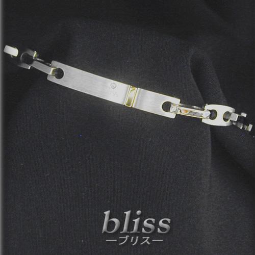 『セール ポイント5倍』ブリス bliss ブレスレットステンレス/ダイヤモンド 0.01ctK12062【送料無料】 【あす楽対応】 【コンビニ受取】 【ロッカー受取】 【国際配送】