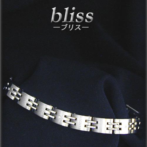 『ポイント5倍還元』ブリス bliss ブレスレットステンレス/ダイヤモンド 0.01ct×3K12061【送料無料】 【あす楽対応】 【コンビニ受取】 【ロッカー受取】 【国際配送】