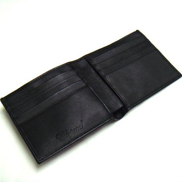 CHOPARD Chopard two bi-fold wallet BLACK 95 / 7035 95012-0001