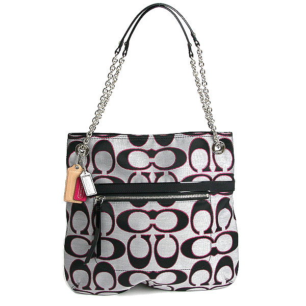 Interior Point Five Times 1 5 Until 9 59 Coach Poppy Metallic Signature Sa Slim Tote Bag F21161 Svaxe Moonlight X Pink Scarlet