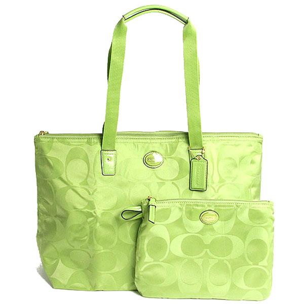 Coach Signature Nylon A Pocketable Weekender Folding Tote Bag F77321 B4 Le Reef