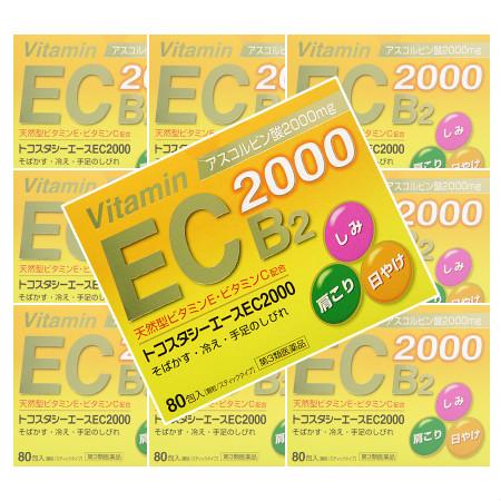 【第3類医薬品】トコスタシーエースEC2000 80包 【10個セット】【お取り寄せ】(4977168050726-10)