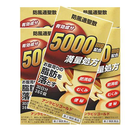 【第2類医薬品】アンラビリゴールド 360錠 【5個セット】【お取り寄せ】(4987076505089-5)