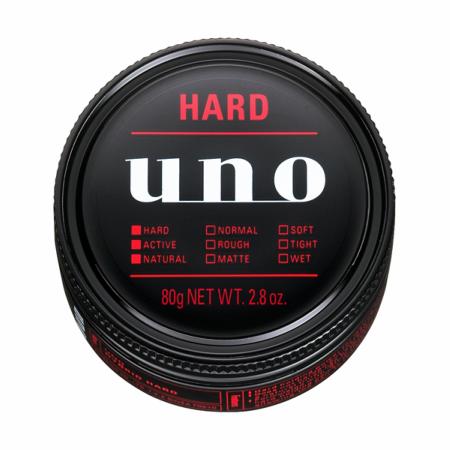 uno ワックス ハイブリッドハード 80g 【9個セット】 【お取り寄せ】(4901872447008-9)