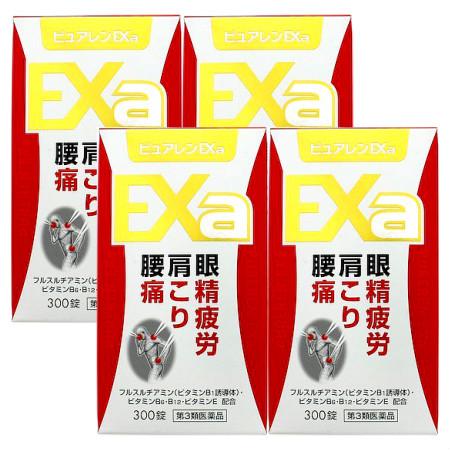 【第3類医薬品】ピュアレンEXa 300錠 【4個セット】【お取り寄せ】(4962307069042-4)