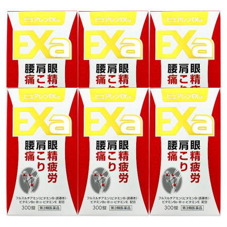 【第3類医薬品】ピュアレンEXa 300錠 【6個セット】【お取り寄せ】(4962307069042-6)