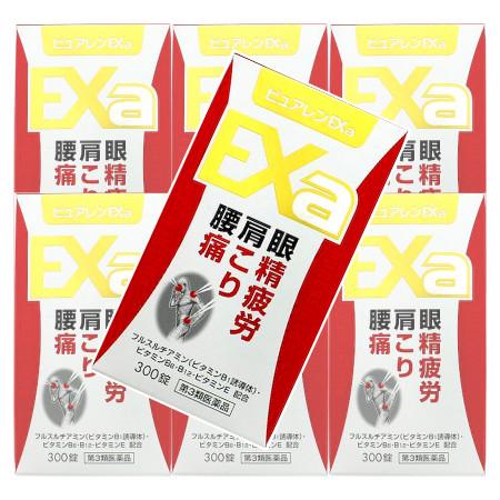【第3類医薬品】ピュアレンEXa 300錠 【7個セット】【お取り寄せ】(4962307069042-7)