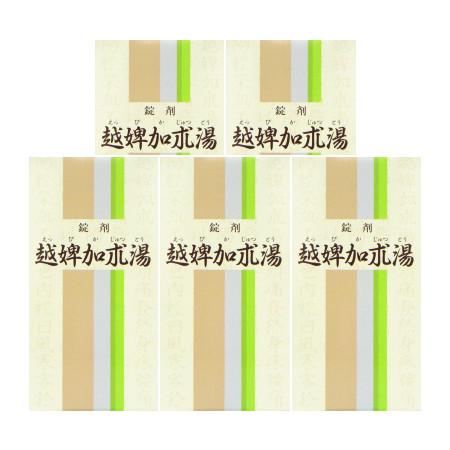【第2類医薬品】 越婢加朮湯(えっぴかじゅつとう) 350錠 【5個セット】【お取り寄せ】(4987346052084-5)