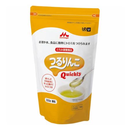 クリニコ つるりんこ Quickly 300g (とろみ調整食品) 【9個セット】【お取り寄せ】(4902720078818-9)