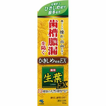 小林製薬 生葉EX 100g 【10個セット】【お取り寄せ 】(4987072038826-10)