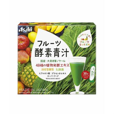 アサヒグループ食品 フルーツ酵素青汁 30袋 【9個セット】【お取り寄せ】(4946842638994-9)