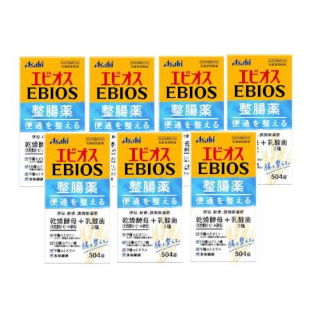 エビオス整腸薬 504錠【指定医薬部外品】 【7個セット】【お取り寄せ】(4946842100125-7)