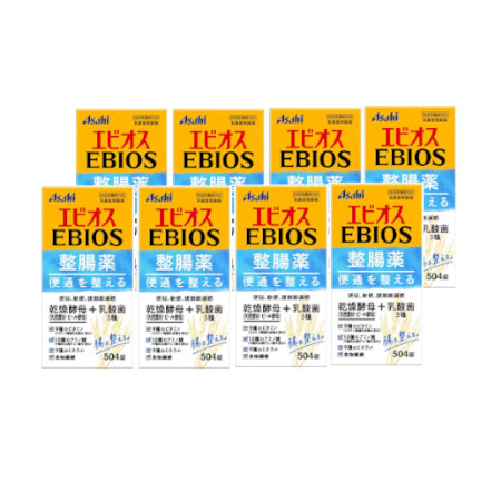 エビオス整腸薬 504錠【指定医薬部外品】 【8個セット】【お取り寄せ】(4946842100125-8)