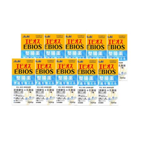 エビオス整腸薬 504錠【指定医薬部外品】 【10個セット】【お取り寄せ】(4946842100125-10)