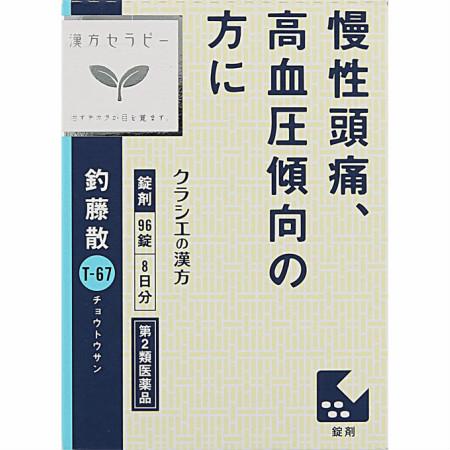 【第2類医薬品】JPS釣藤散料エキス錠N 96錠 【10箱セット】【お取り寄せ】(4987045182617-10)