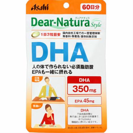 アサヒフードアンドヘルスケア ディアナチュラスタイル DHA 420mg×180粒【10個セット】【お取り寄せ】(4946842637256-10)
