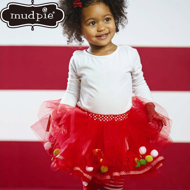 640383c9e8444 MudPieメリーチュチュ☆チュチュスカートクリスマス女の子ドレス子供ベビーキッズインファントトドラーパーティ