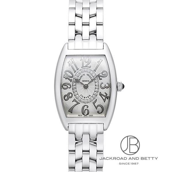 フランク・ミュラー FRANCK MULLER カーベックス レリーフ ダイヤモンド 1752QZ REF CD1R OAC 新品 時計 レディース