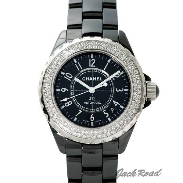 シャネル CHANEL J12 オートマティック ダイヤベゼル H0950 【新品】 時計 メンズ
