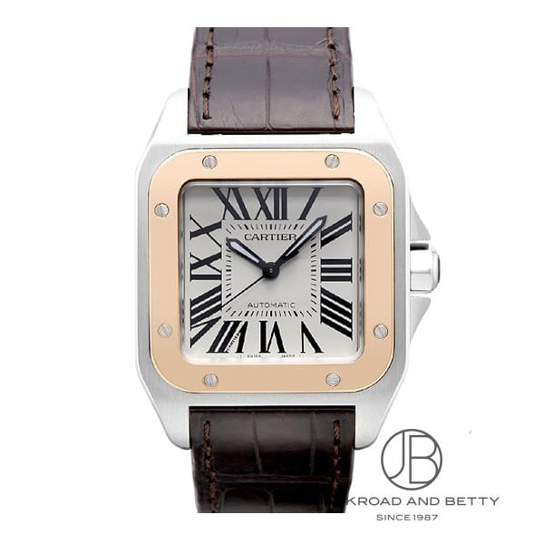 カルティエ CARTIER サントス100 MMサイズ W20107X7 新品 時計 ボーイズ