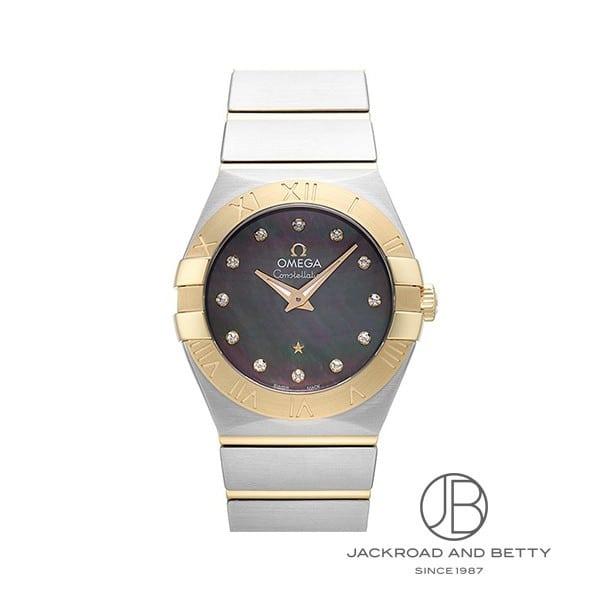 オメガ OMEGA コンステレーション ブラッシュ クォーツ タヒチ 123.20.27.60.57.007 新品 時計 レディース