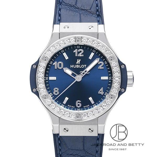 ウブロ HUBLOT ビッグバン スチール ブルーダイヤモンド 361.SX.7170.LR.1204 新品 時計 レディース