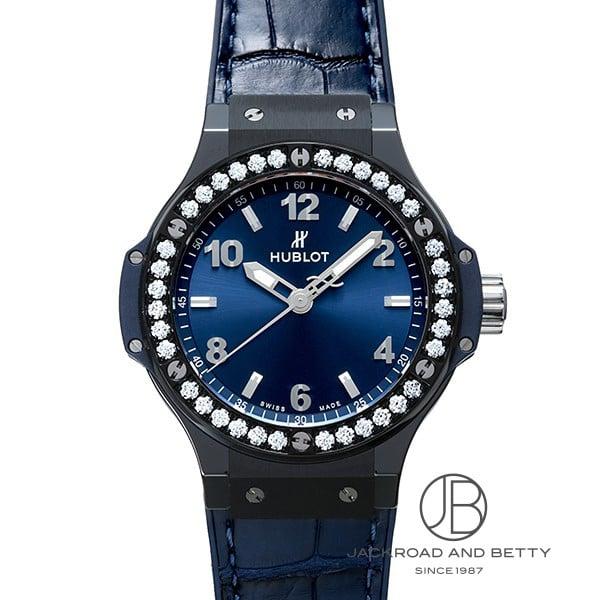 ウブロ HUBLOT ビッグバン セラミック ブルーダイヤモンド 361.CM.7170.LR.1204 新品 時計 レディース