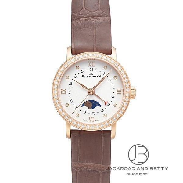 ブランパン BLANCPAIN ヴィルレ デイト ムーンフェイズ 6106-2987-55A 【新品】 時計 レディース