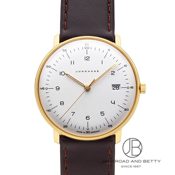 ユンハンス JUNGHANS マックスビル クオーツ 041/7872.00 【新品】 時計 メンズ