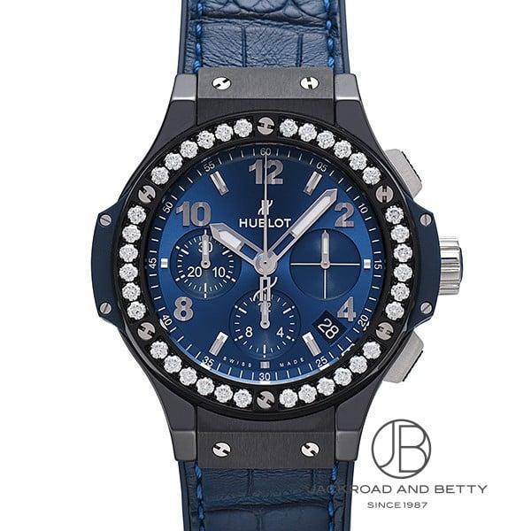 ウブロ HUBLOT ビッグバン セラミック ブルーダイヤモンド 341.CM.7170.LR.1204 【新品】 時計 レディース