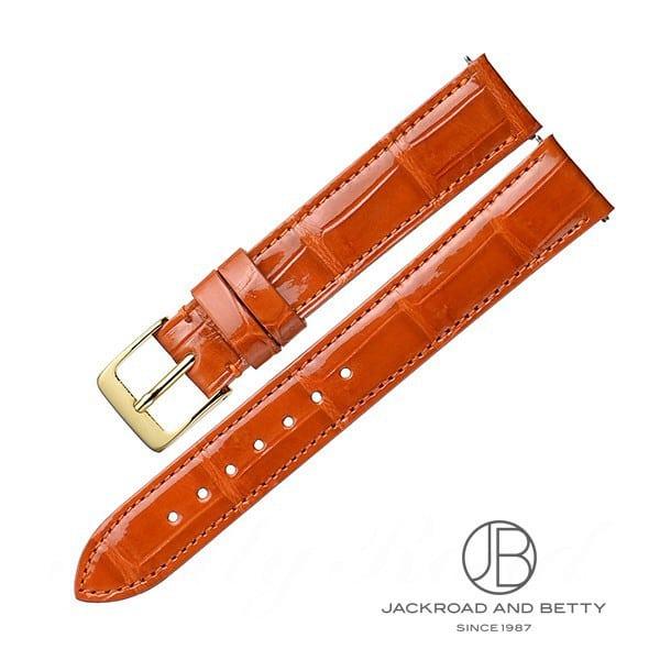 ベティーロード BettyRoad レディース オリジナル革ベルト・ワンタッチ加工付き 15mm(オレンジブラウン) 【新品】 その他