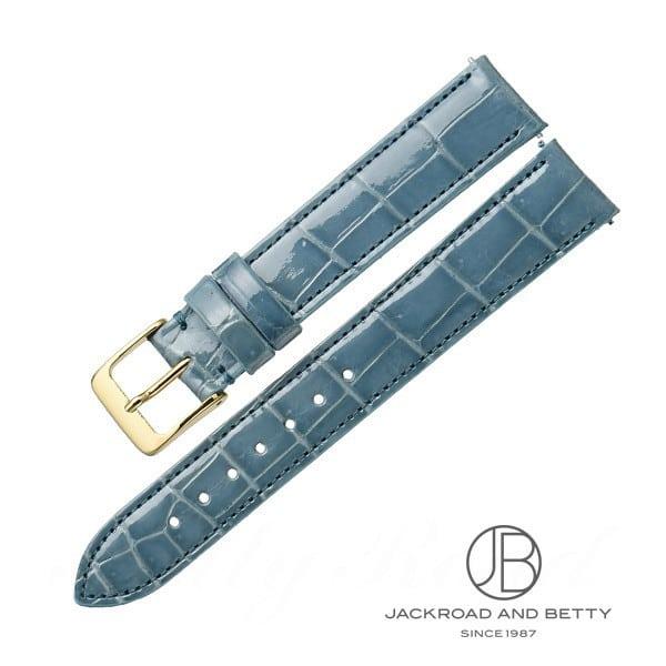 ベティーロード BettyRoad レディース オリジナル革ベルト・ワンタッチ加工付き 15mm(ブルーグレー) 0 新品 その他