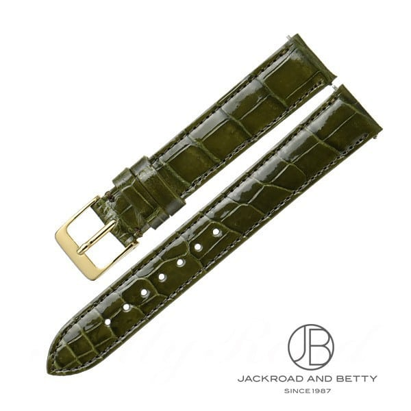 ベティーロード BettyRoad レディース オリジナル革ベルト・ワンタッチ加工付き 15mm(オリーブ) 0 新品 その他