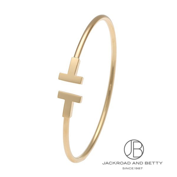 ティファニー TIFFANY&Co. Tワイヤー ブレスレット M ローズゴールド 33263465 新品 ジュエリー ブランドジュエリー