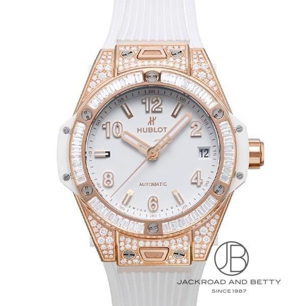 ウブロ HUBLOT ビッグバン ワンクリック キングゴールド ホワイト ジュエリー 465.OE.2080.RW.0904 新品 時計 レディース